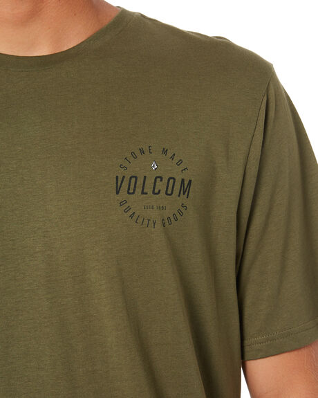 MILITARY MENS CLOTHING VOLCOM TEES - A504187GMIL