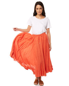 CARNELIAN WOMENS CLOTHING TIGERLILY SKIRTS - T381278CARN