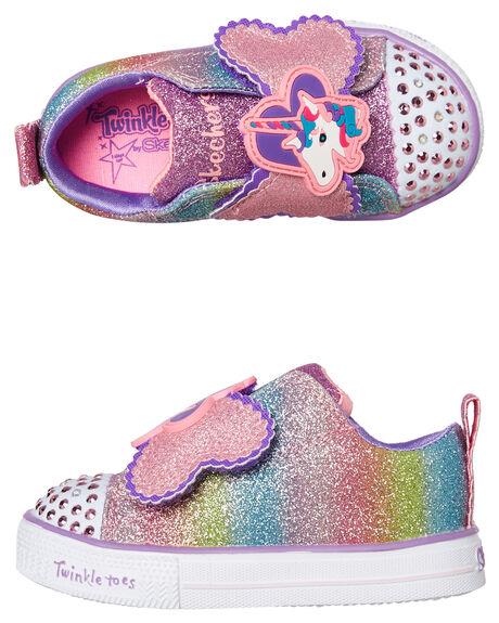 MULTI KIDS GIRLS SKECHERS FOOTWEAR - 10993NMLT