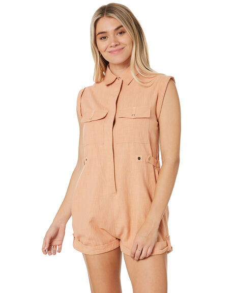 CLAY WOMENS CLOTHING RIP CURL PLAYSUITS + OVERALLS - GDRCR90136