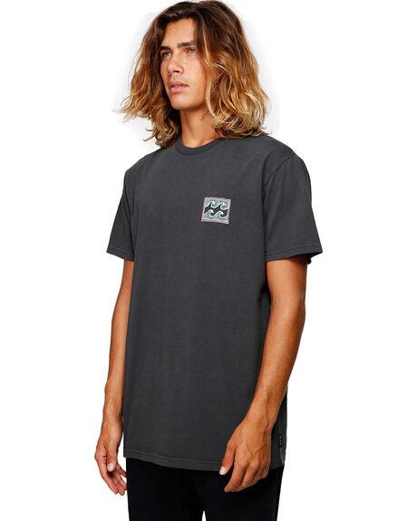 BLACK MENS CLOTHING BILLABONG TEES - BB-9592012-BLK