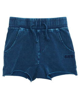 BLUE WASH OUTLET KIDS ROCK YOUR KID CLOTHING - TBP1829-SLBLUW