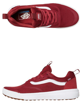 RUMBA RED WOMENS FOOTWEAR VANS SNEAKERS - SSVNA3MVUVG4RBRDW