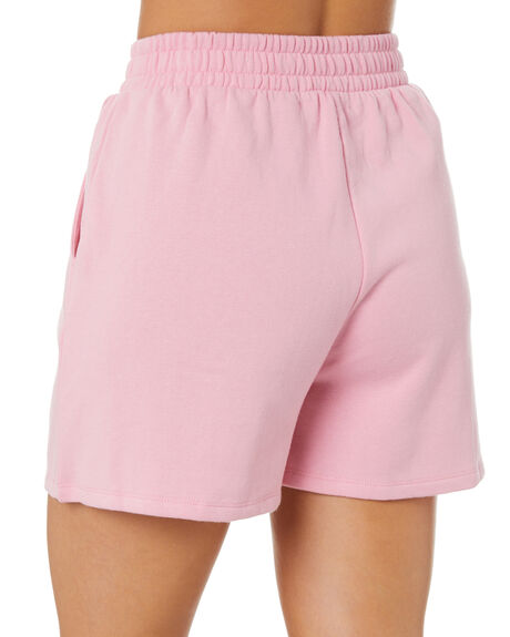 PINK WOMENS CLOTHING ALL ABOUT EVE SHORTS - 6483266PNK