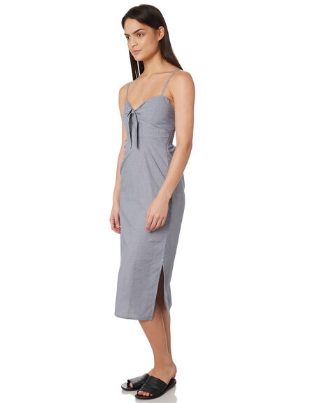 NAVY CHECK WOMENS CLOTHING ELWOOD DRESSES - W84721A89