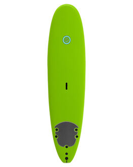 LIME SILVER SURF SOFTBOARDS GNARALOO GSI BEGINNER - GN-SOFT-LM