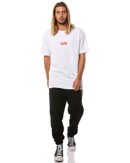 BLACK MENS CLOTHING STUSSY PANTS - ST081612BLK