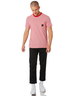 CAYENNE OUTLET MENS HUF TEES - KN00102-CAYNE