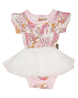 WHITE KIDS BABY ROCK YOUR BABY CLOTHING - BGD1913-RUWHT