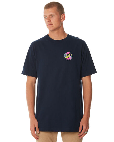 BLUE OUTLET MENS GOOD WORTH TEES - T901811BLUE
