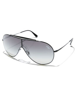 BLACK GREY GRADIENT MENS ACCESSORIES RAY-BAN SUNGLASSES - 0RB3597BLK
