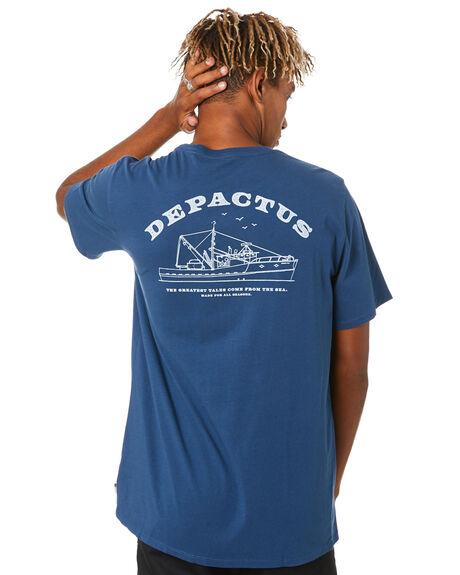 NAVY MENS CLOTHING DEPACTUS TEES - D5204005NAVY