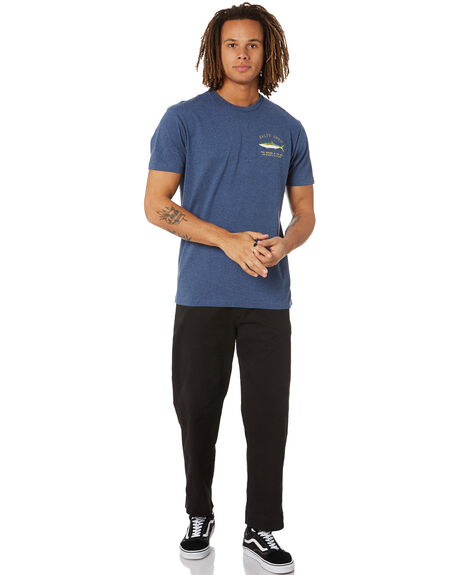 NAVY HEATHER MENS CLOTHING SALTY CREW TEES - 20035083NVYHA