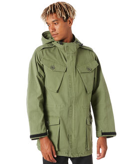 CLOVER MENS CLOTHING DEUS EX MACHINA JACKETS - DMA206523CLVR