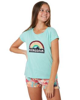 FITZ ROY RAINBOW KIDS GIRLS PATAGONIA TOPS - 62242FRRV