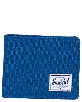 MONACO BLUE XHATCH MENS ACCESSORIES HERSCHEL SUPPLY CO WALLETS - 10363-03262-OSMBX