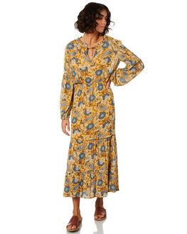 CITRON WOMENS CLOTHING THE HIDDEN WAY DRESSES - H8201441CITRN