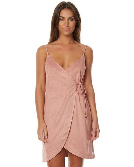 DUSTY PINK WOMENS CLOTHING SOMEDAYS LOVIN DRESSES - SL1608945DPNK