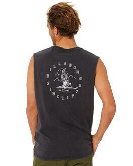 BLACK MENS CLOTHING BILLABONG SINGLETS - 9582509BLK