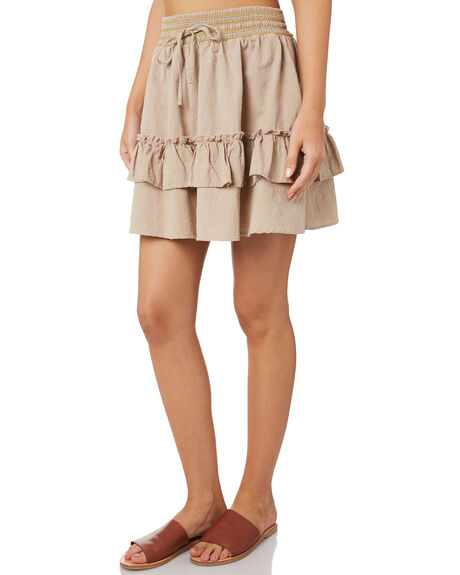 FEATHER GREY OUTLET WOMENS RUSTY SKIRTS - SKL0460GREY