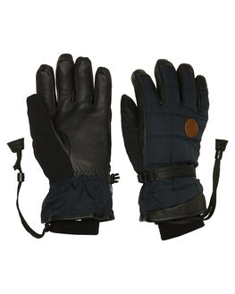 BLACK BOARDSPORTS SNOW POW GLOVES - WRV-C-L-HIP-BKBLK