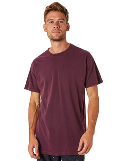 BURGUNDY MENS CLOTHING BILLABONG TEES - 9572051BURG