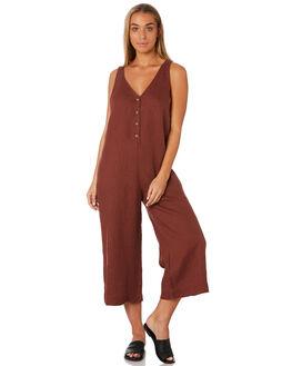 BRANDY WOMENS CLOTHING RHYTHM PLAYSUITS + OVERALLS - JUL19W-JS04BRAN