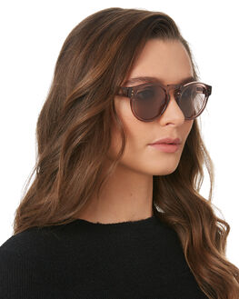 POLISHED PLUM WOMENS ACCESSORIES LOCAL SUPPLY SUNGLASSES - FREEWAYPMP20