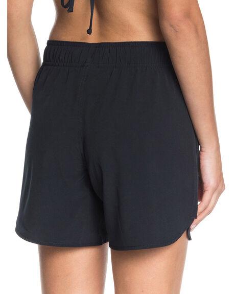 ANTHRACITE WOMENS CLOTHING ROXY SHORTS - ERJBS03162-KVJ0
