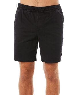 WASHED BLACK MENS CLOTHING RIP CURL SHORTS - CWALC18264