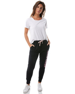 BLACK WOMENS CLOTHING SANTA CRUZ PANTS - SC-WPA8568BLK