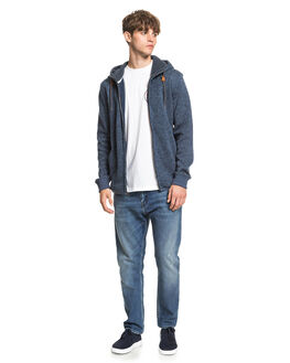 BLUE NIGHTS HEATHER MENS CLOTHING QUIKSILVER JUMPERS - EQYFT04134-BSTH