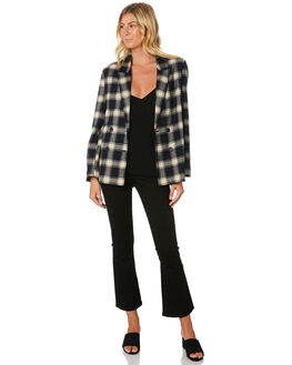 NAVY CREAM WOMENS CLOTHING ROLLAS JACKETS - 12921-4555
