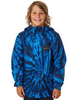 BLUE TIE DYE BOARDSPORTS SNOW VOLCOM BOYS - I0451903BTD