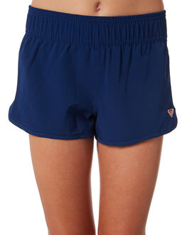 MEDIEVAL BLUE KIDS GIRLS ROXY SHORTS - ERGBS03053BTE0