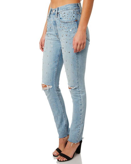 COUNTING STARS WOMENS CLOTHING LEVI'S JEANS - 29502-0061CSTAR