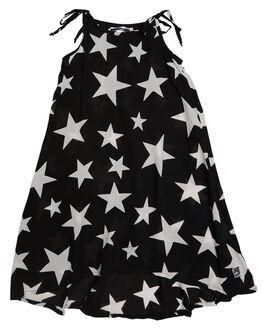 BLACK STAR KIDS TODDLER GIRLS SWEET CHILD OF MINE DRESSES - SWINGDRSSBKSTR