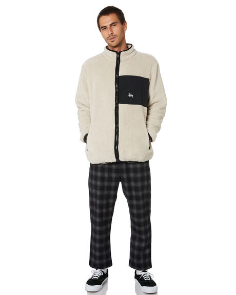 OFF WHITE MENS CLOTHING STUSSY JACKETS - ST005504OFFWT