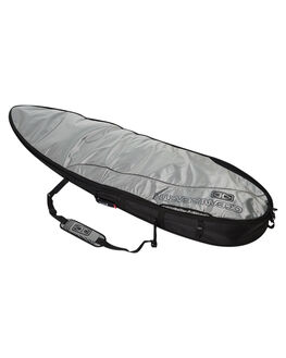 SILVER BLACK BOARDSPORTS SURF OCEAN AND EARTH BOARDCOVERS - SCFB26SBLK