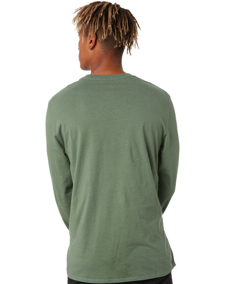 OLIVE MENS CLOTHING DEPACTUS TEES - D5204103OLIVE