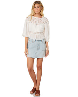 IVORY WOMENS CLOTHING FREE PEOPLE FASHION TOPS - OB8898881100