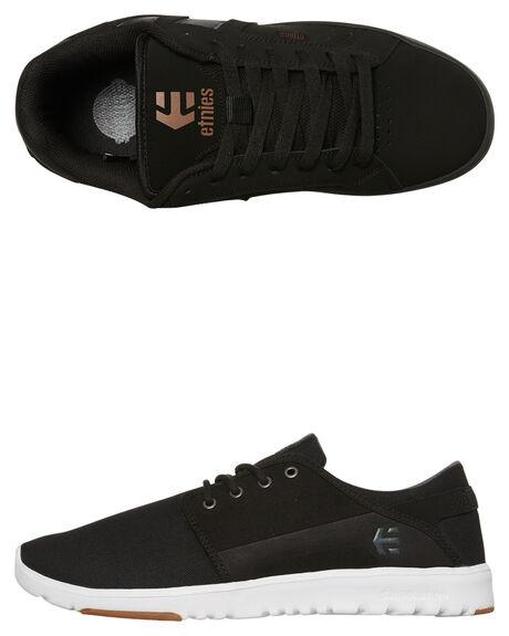 BLACK CHARCOAL MENS FOOTWEAR ETNIES SNEAKERS - 4101000419-558