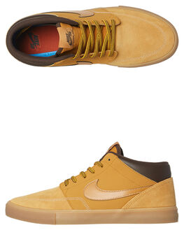 BRONZE BROWN MENS FOOTWEAR NIKE SKATE SHOES - AJ6978-779