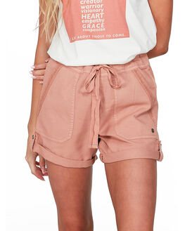 CAFE CREME WOMENS CLOTHING ROXY SHORTS - ERJNS03248-TJB0