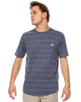 MIDNIGHT NAVY MENS CLOTHING HURLEY TEES - AMTSERT44B