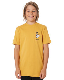 OLD GOLD KIDS BOYS SWELL TOPS - S3194000OLDGD