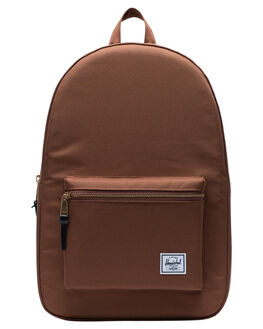 SADDLE BROWN MENS ACCESSORIES HERSCHEL SUPPLY CO BAGS + BACKPACKS - 10005-03272-OSSBRN
