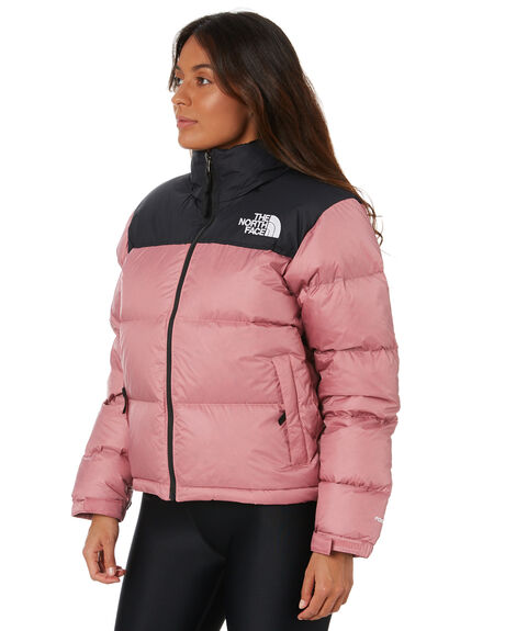 MESSA ROSE WOMENS CLOTHING THE NORTH FACE JACKETS - NF0A3XEORN2MROSE