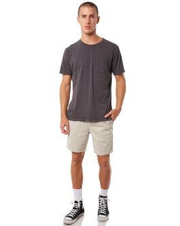 BLACK WASH MENS CLOTHING KATIN TEES - KNBAS00BWSH