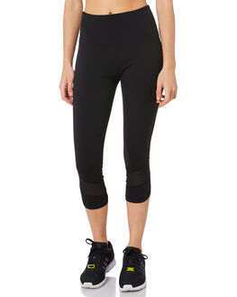 BLACK WOMENS CLOTHING LORNA JANE ACTIVEWEAR - 111972BLACK